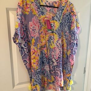 Brand new lily swim cover up